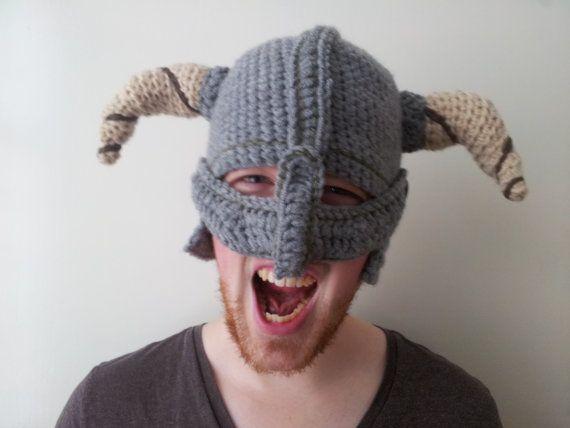 Crochet Skyrim Dragonborn Helmet
