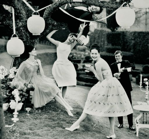 Friends Tails A Garden Party All I Really Need Summer Pleasures Henry Clarke 1960