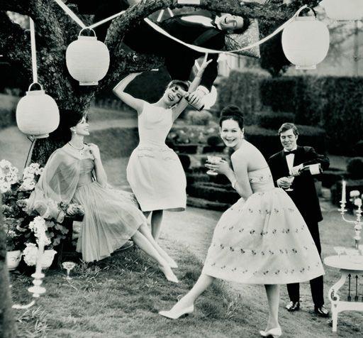 Paper Lanterns Vintage Garden Party Summer Pleasures June 1960