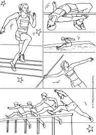 έ ό Olympic Sports Coloring Pages