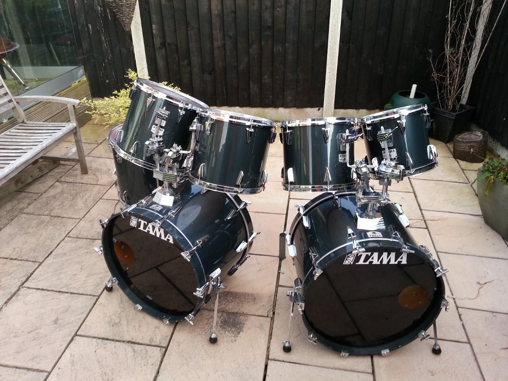 tama granstar double bass drum set google search drums