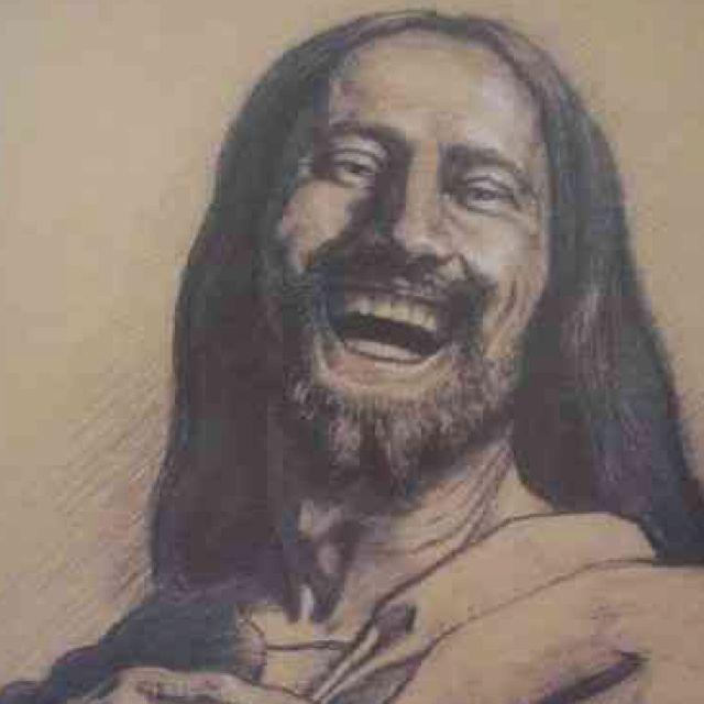 Laughing Jesus...always makes me smile. | Jesus laughing ...