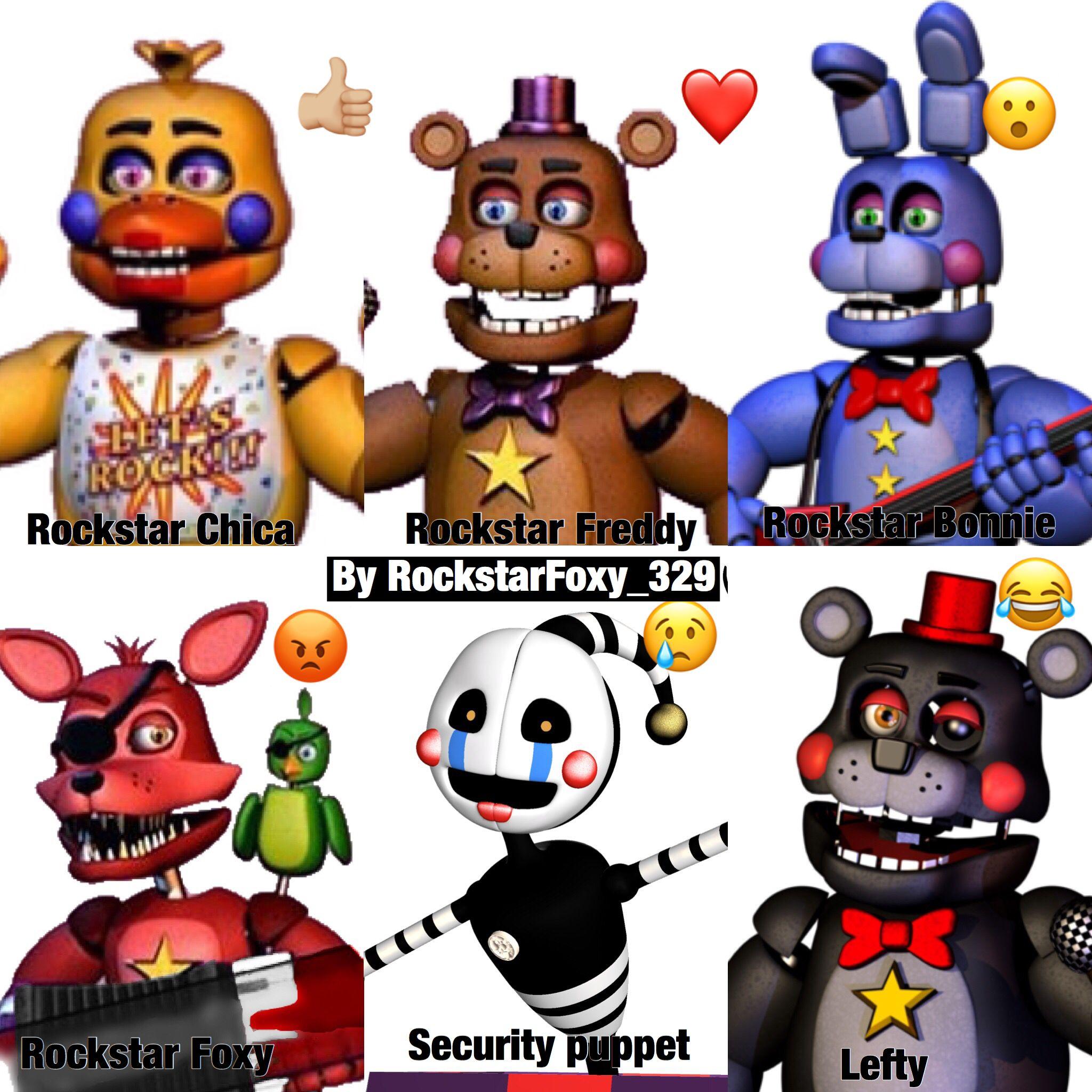 Why Is Rockstar Foxy A Mad Face Fnaf