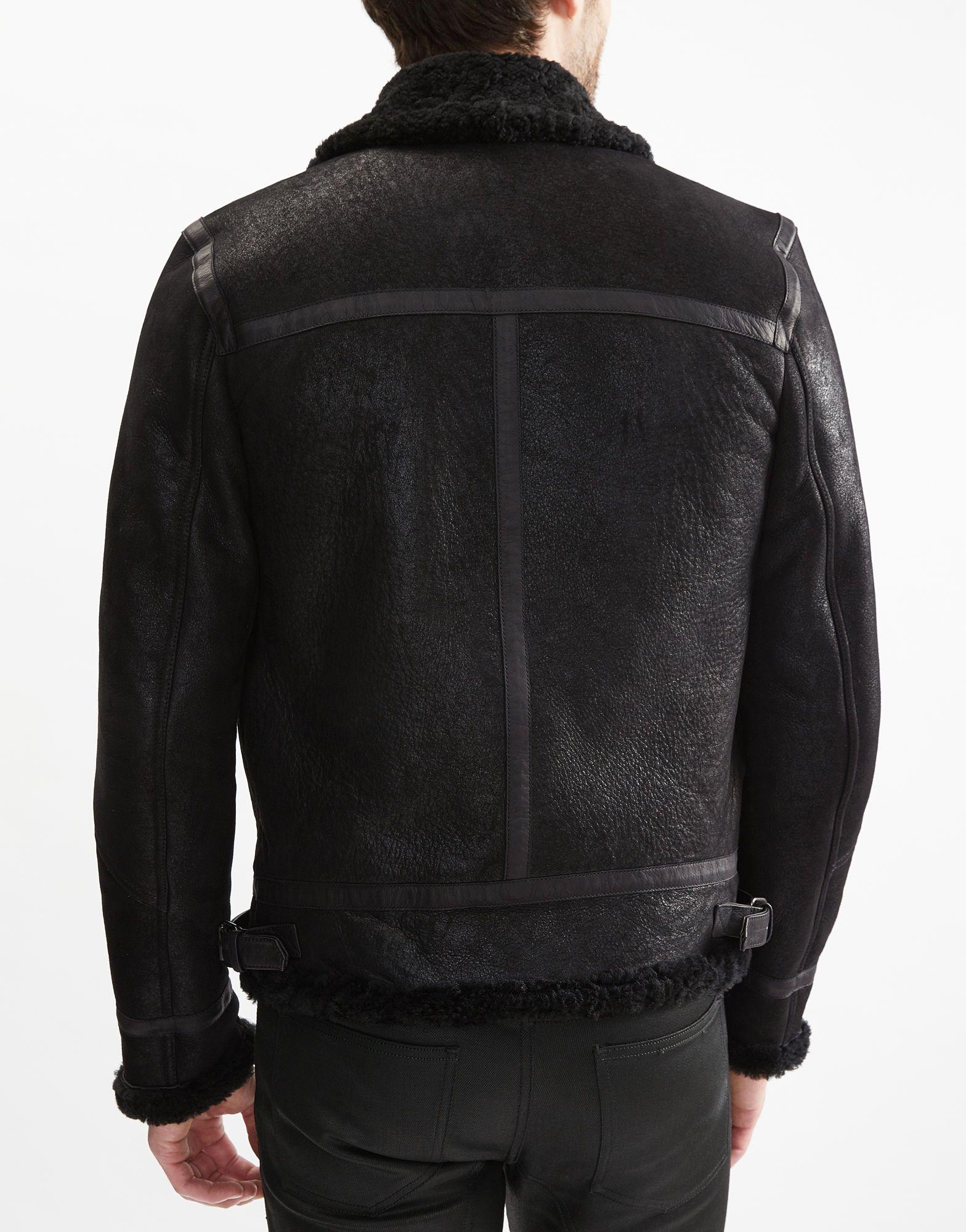 Templewood Shearling Aviator Jacket | Men's Leather Jackets | Belstaff