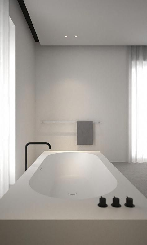 cocoon minimalist bathroom design inspiration high quality rh in pinterest com