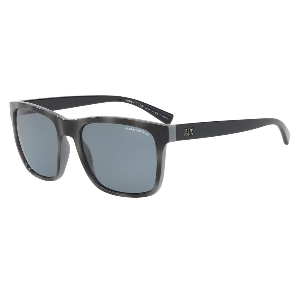 c0cc910d35f Armani Exchange AX4063S 57mm Square Polarized Sunglasses