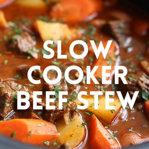 Slow Cooker Beef Stew - Damn Delicious