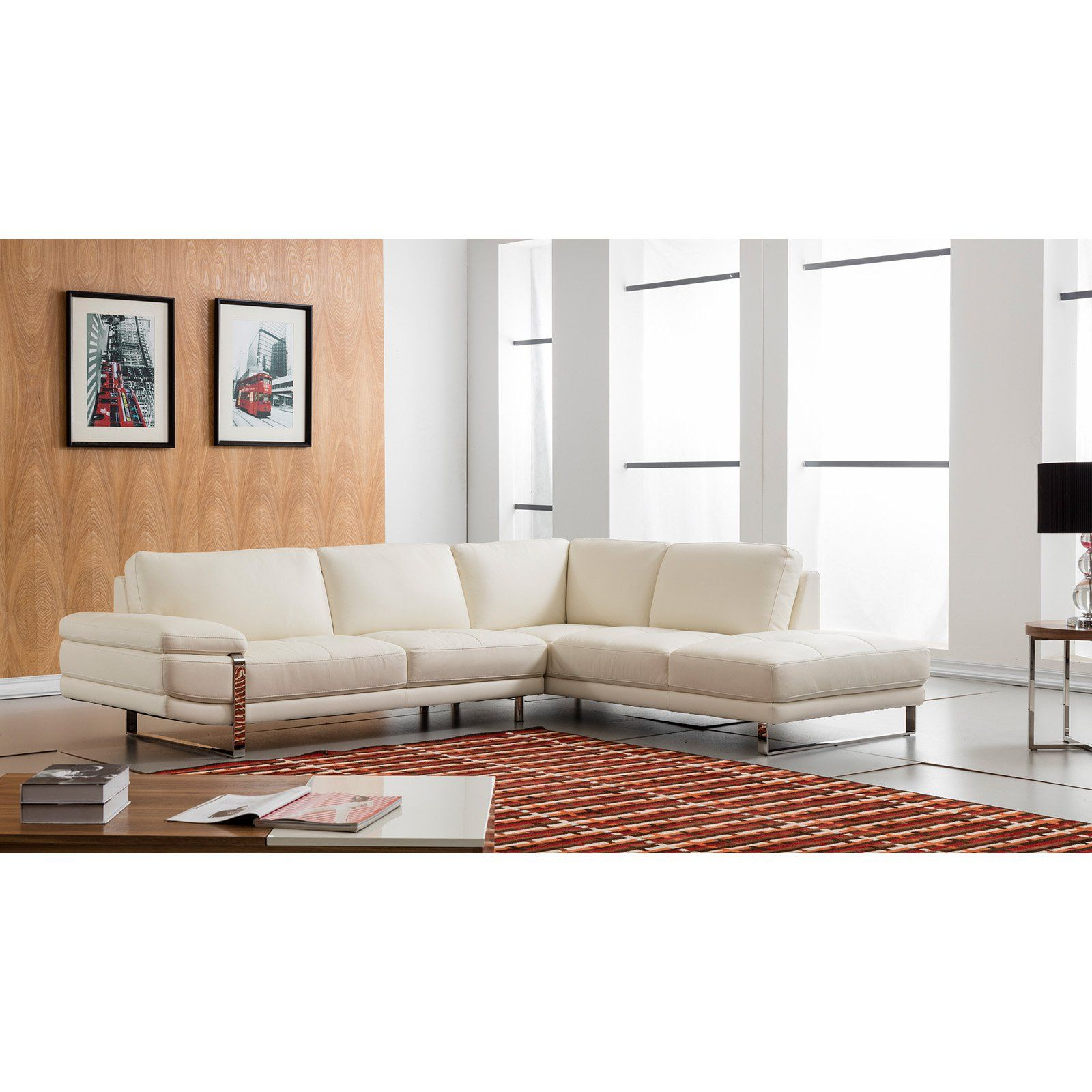 american eagle furniture chelsea white italian leather sectional rh pinterest at
