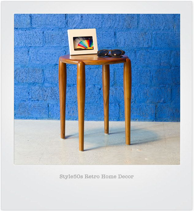 ON809 WAYNE Sidetable   W39.5*L39.5*H45 cm  Teakwood