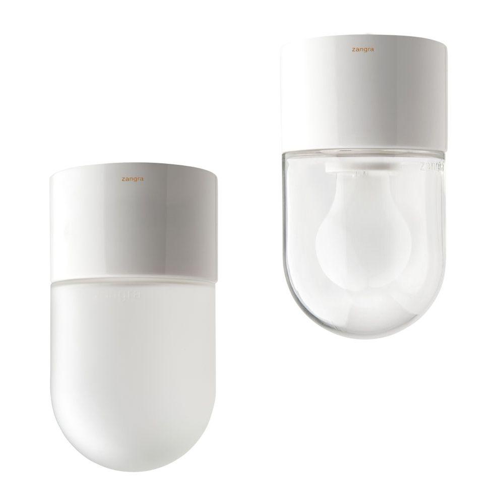 Pill Deckenleuchte Aus Porzellan Weiss Puristische Porzellanlampe