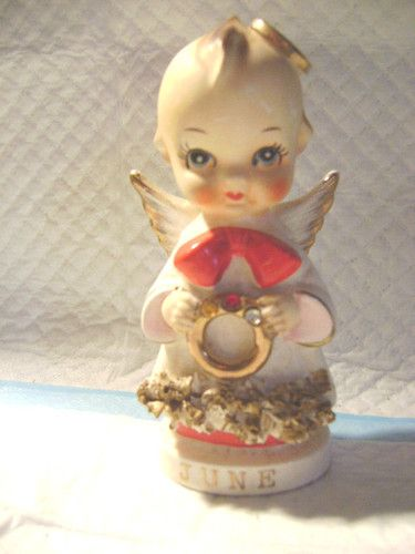 Mouse over image to zoom    Have one to sell? Sell it yourself  **-ORIGINAL ARNART CREATION-JAPAN -A CERAMIC ANGEL(JUNE)-**