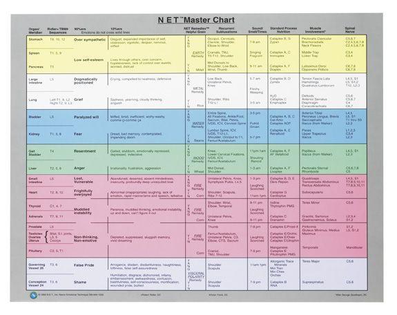 Net Master Chart Google Search Neuro Emotional Technique Emotion Chart Stress Relief Techniques