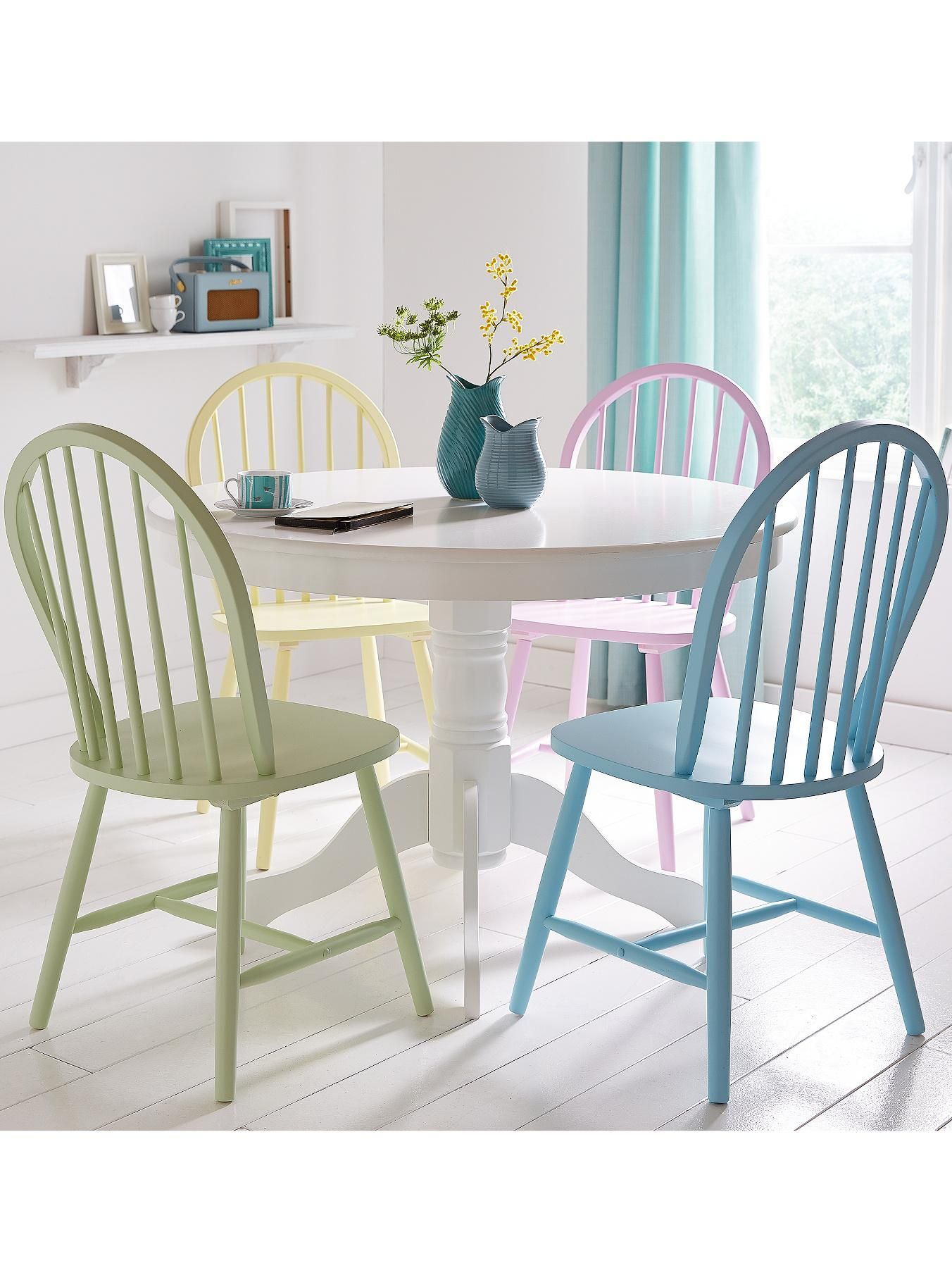Daisy Cm Round Dining Table Chairs Multi Circular Dining - Circular dining table for 4