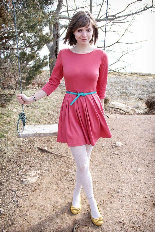 1fbbb23f0c823 Tumblr | sexy cloths I like | White tights, Dresses, Tights
