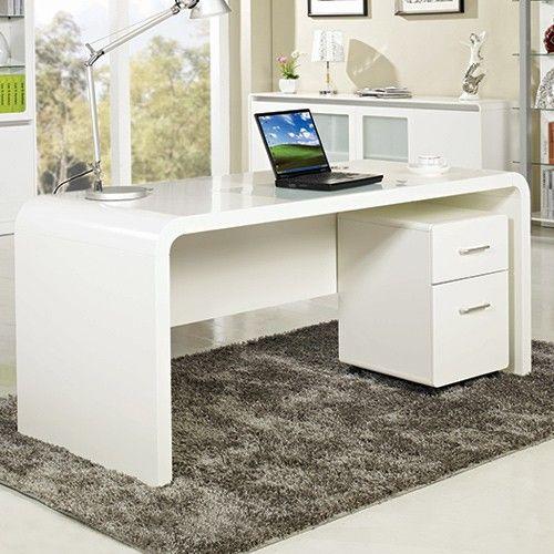 aspen home office desk computer desks 544 from milan direct rh pinterest co uk
