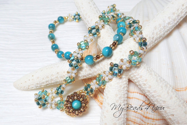 Beaded Stacking Bracelets Gifts for Her Seed Bead Bracelet Set