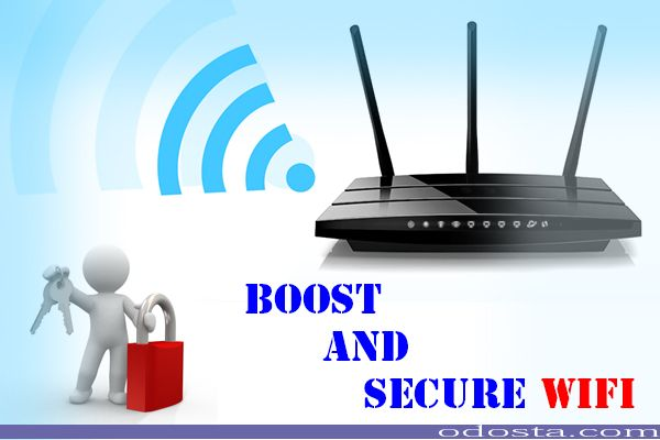 how to secure home network router