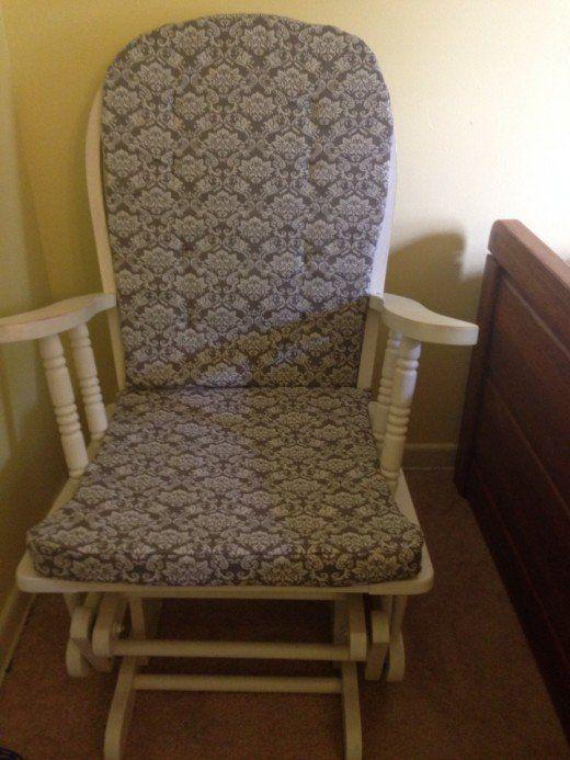How To Make Cushions Rocking Chair Cushions Diy Rocking Chair Rocking Chair Pads