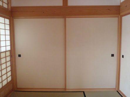 引き戸 二枚 1間半 の画像検索結果 引き戸 建具 収納