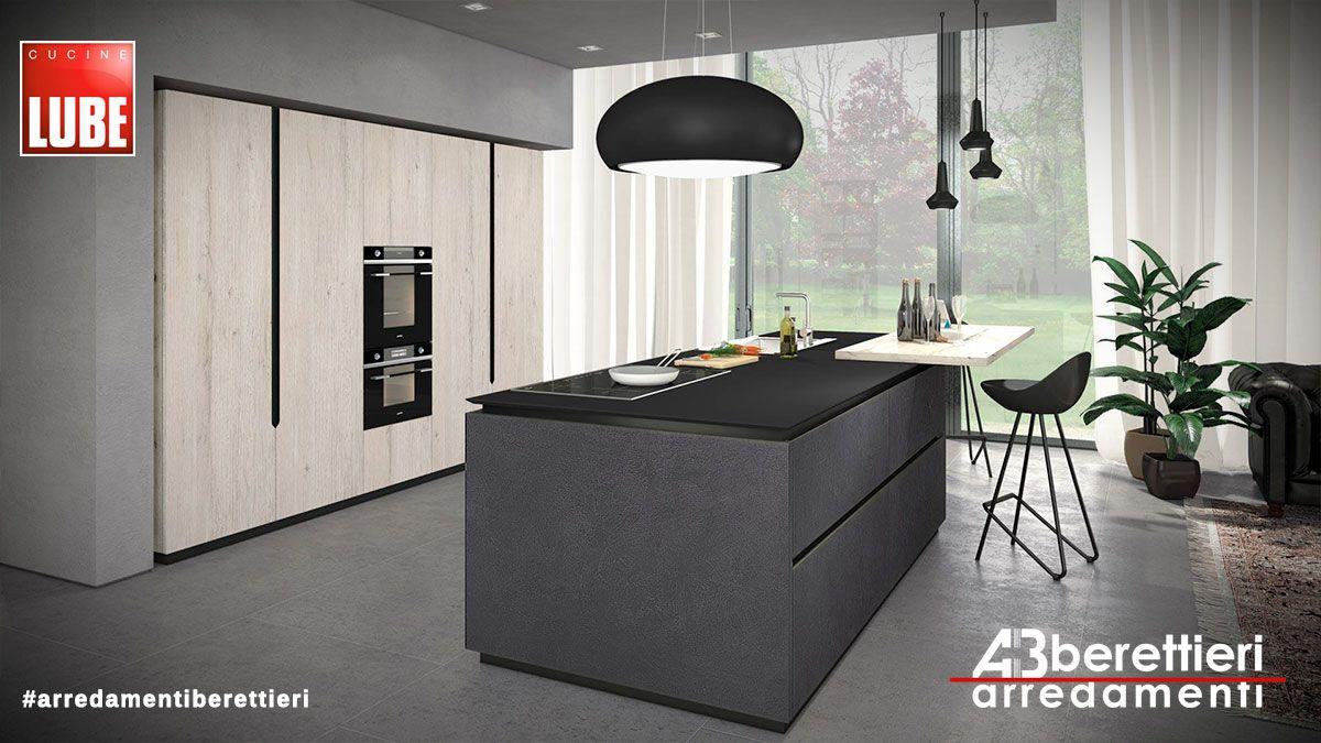 Cucine Lube - Modello OLTRE Presentato a Milano nelle sue varie ...