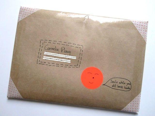 Neon dot parcel :)
