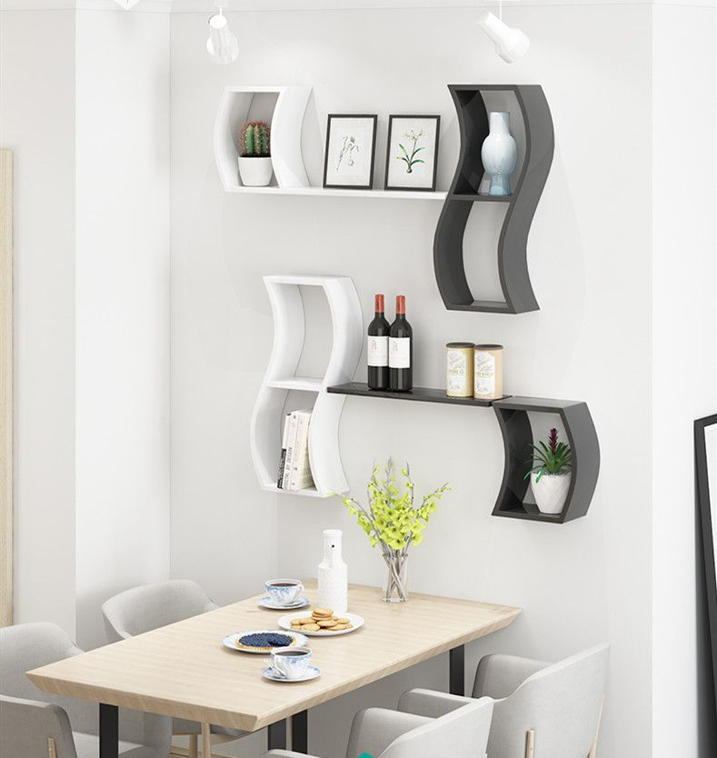 Classic Floating Wall Shelf For Dining Room In 2020 Modern Floating Shelves Cube Shelves Shelves