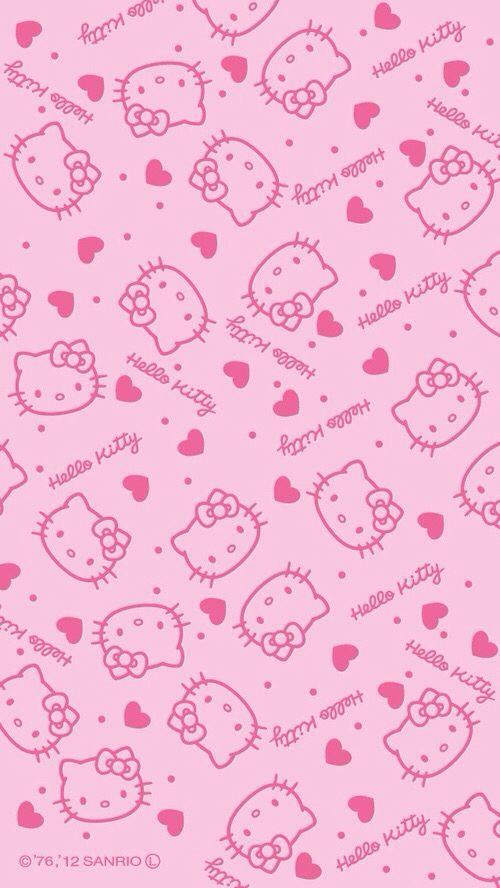 Hello Kitty Wallpaper Pink Wallpaper Hello Kitty Hello