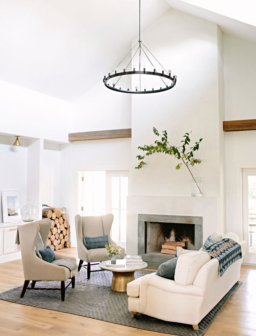Vintage Living Room Ideas For Small Spaces: Modern Farmhouse Living Room