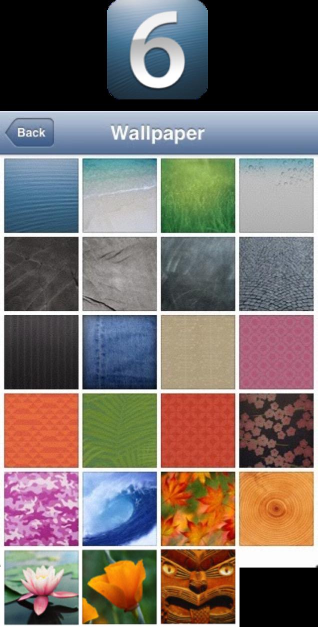 Ios 6 Wallpaper Bundle By Cptneclectic Wallpaper Original Wallpaper Apple Wallpaper