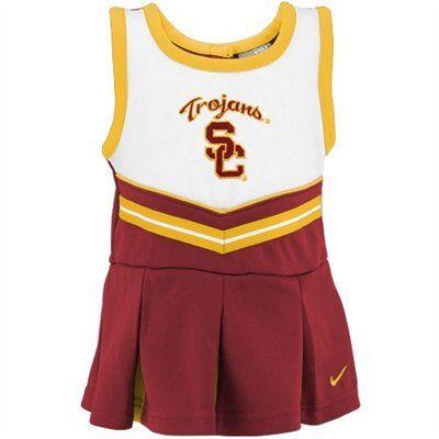 Nike USC Trojans Infant Cardinal Cheer Dress & Bloomers | Cheer
