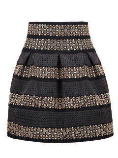 f57660c8a8 falda corta de fiesta con estoperoles  380 - en Mercado Libre ...