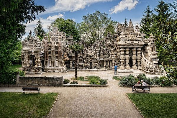 Mailman Builds Incredible Palace With Rocks He Collected Over 33 Years (Photos)