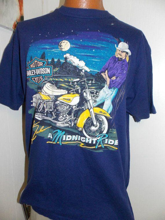 Vintage Harley Davidson Alan Jackson Mens T By Pfantasticpfindstoo