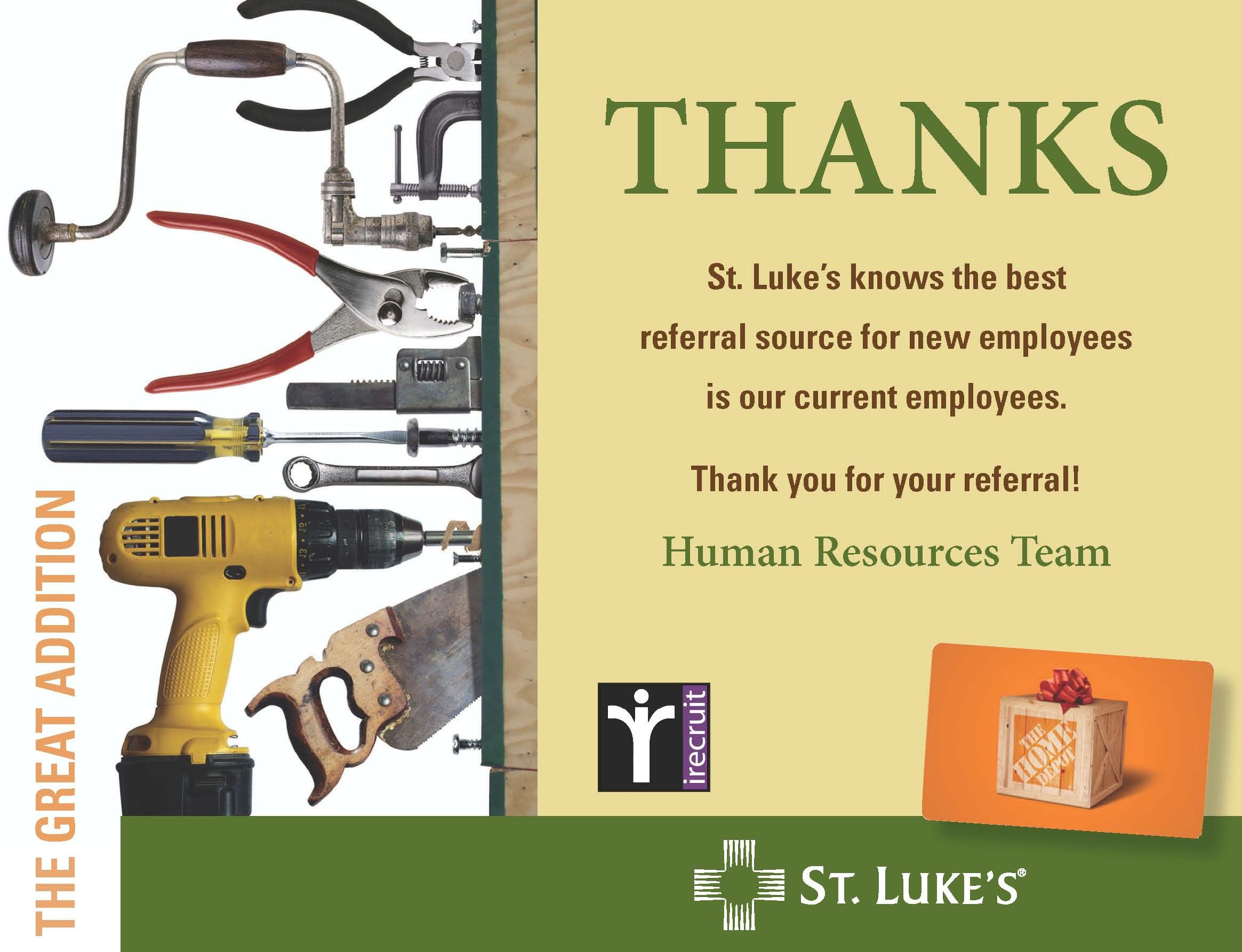 Part Of An Employee Referral Program Ad We Created For Out Client