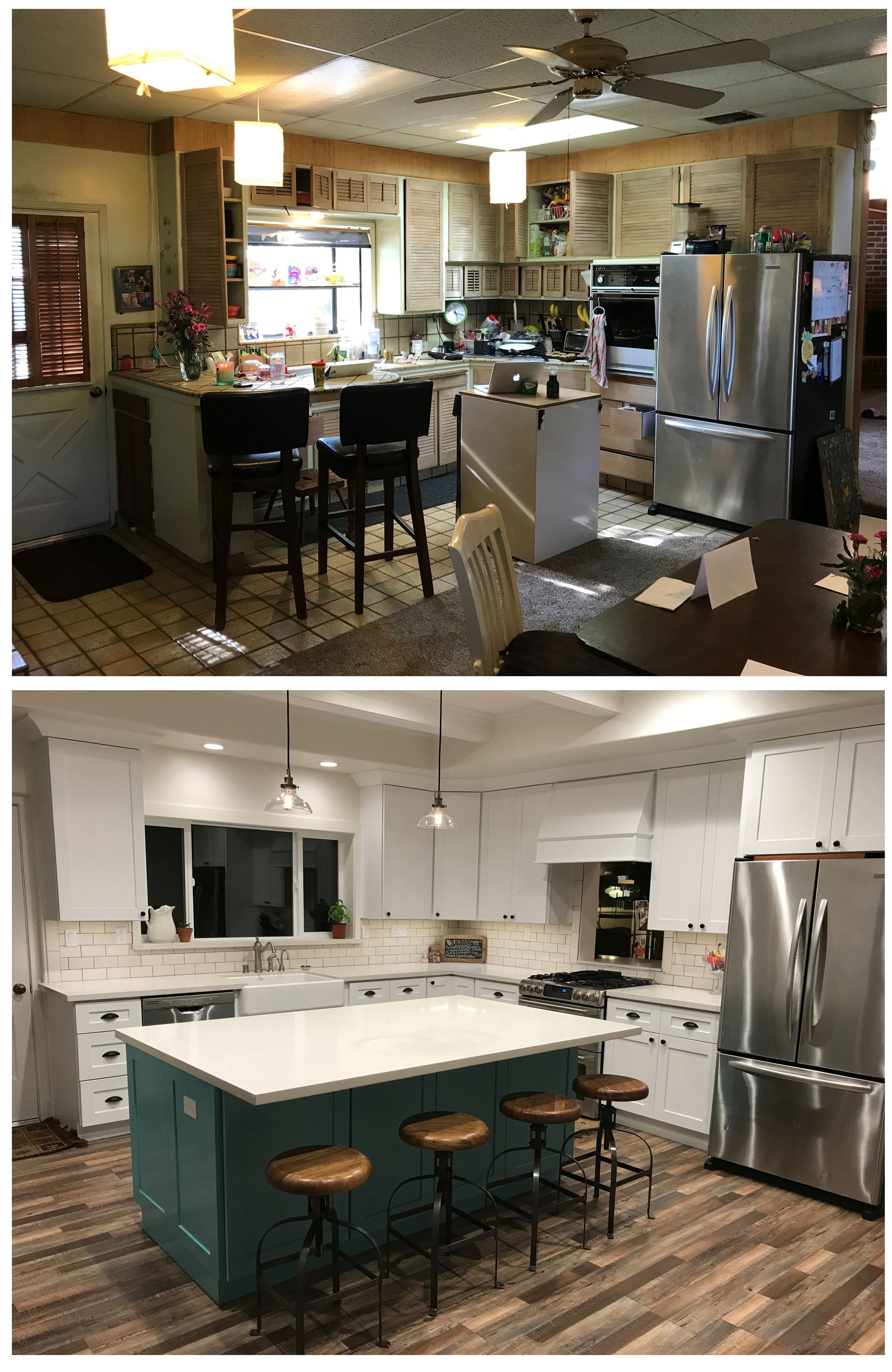 3 Simple Tips On Kitchen Remodel Before And After