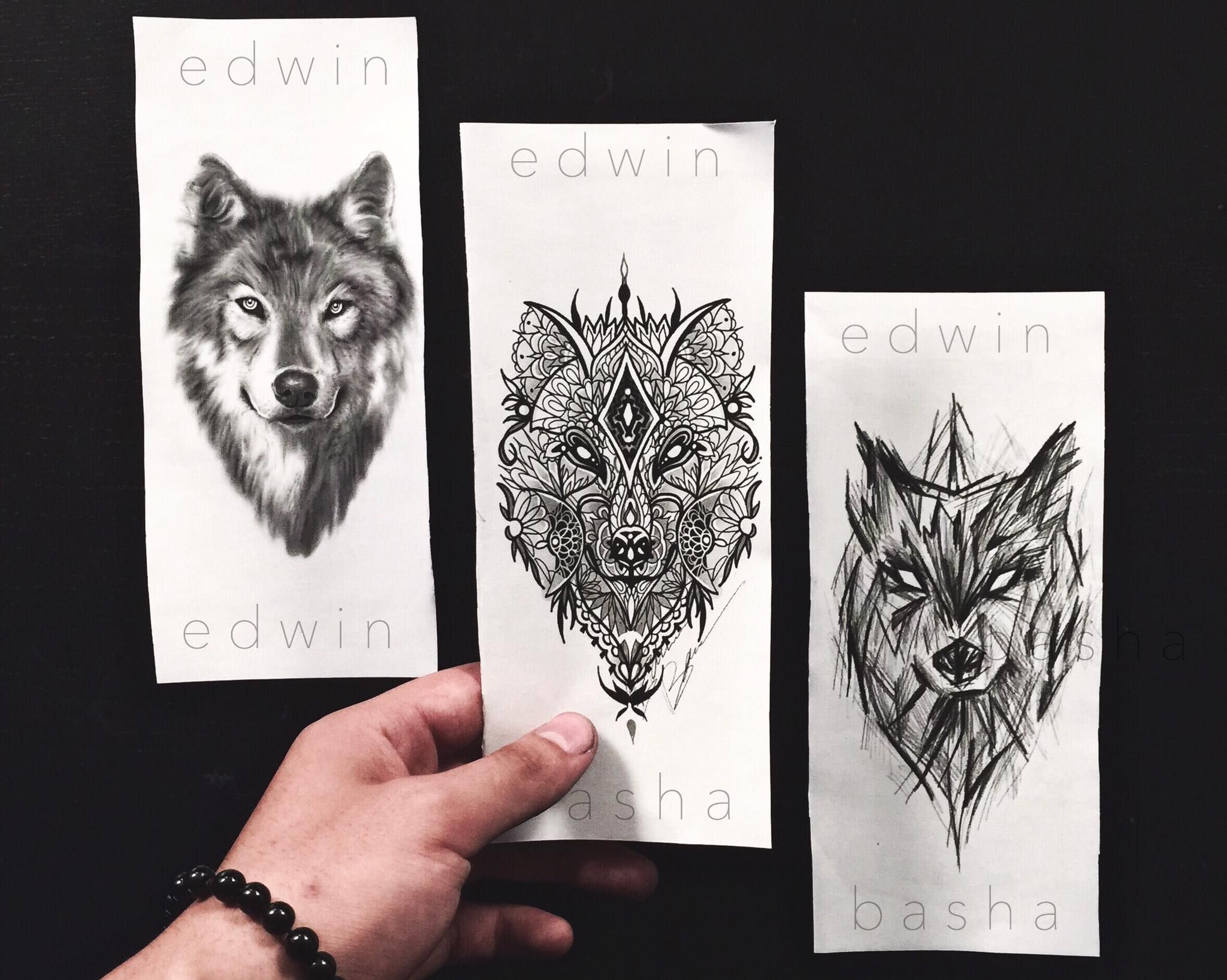 Draw Sketch Art Tattoo Diegno Lupo Wolf Mandala Sketchstyle Sketch