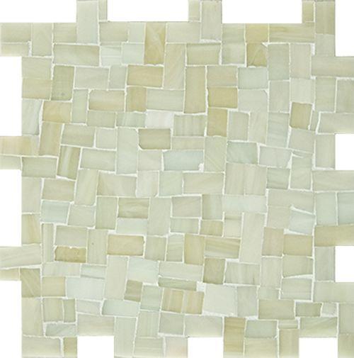 Miles Modular Peggy Pale Green Green Tile Backsplash Artistic Tile Green Mosaic Tiles