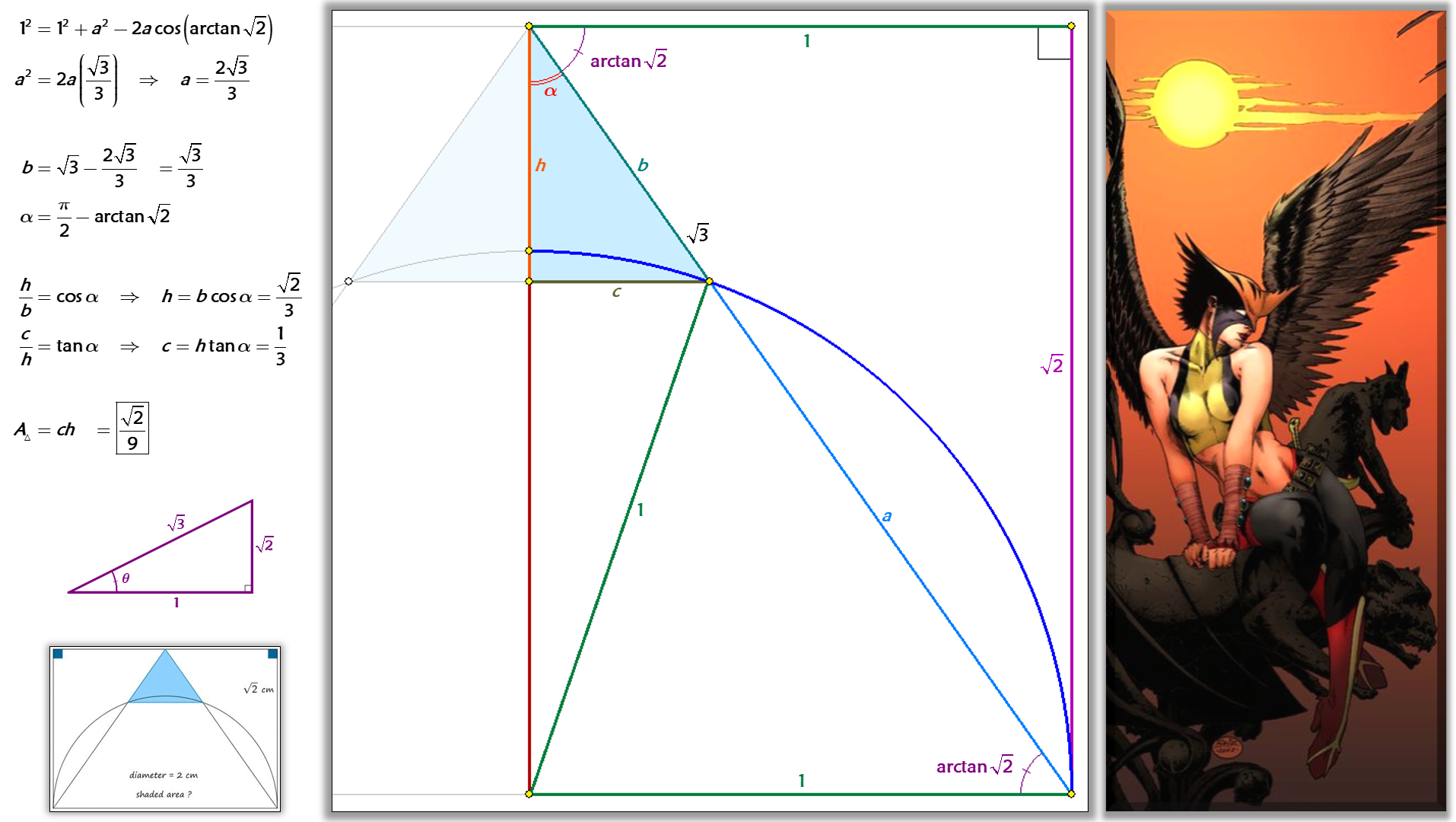 Solved By Law Of Cosines Pythagorean Theorem And Right