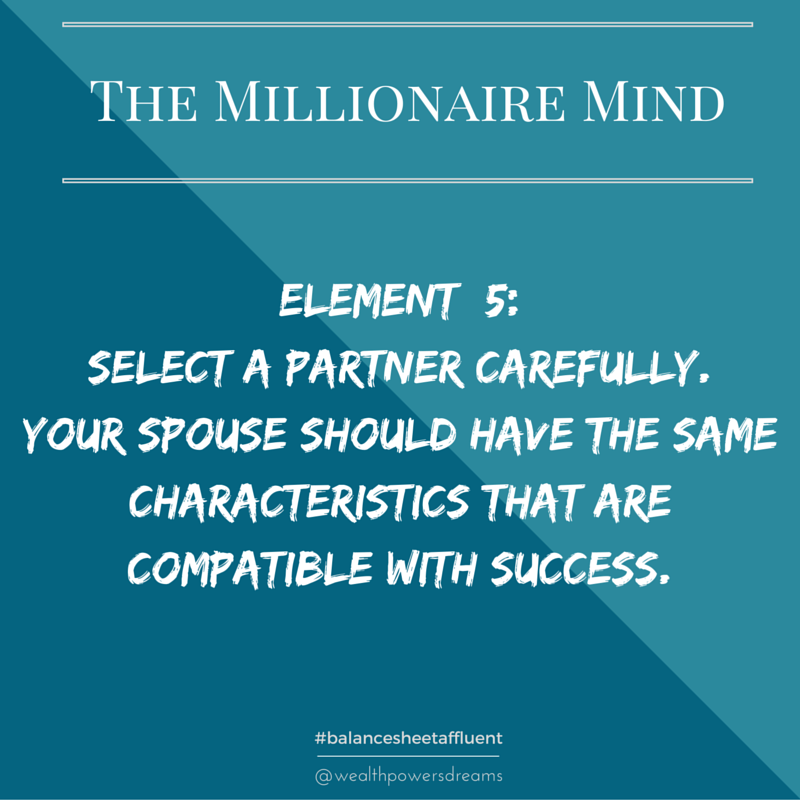 Partner with a millionaire