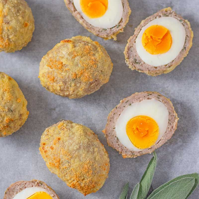 Keto Scotch Eggs - Easy & Delicious Oven Baked Recipe