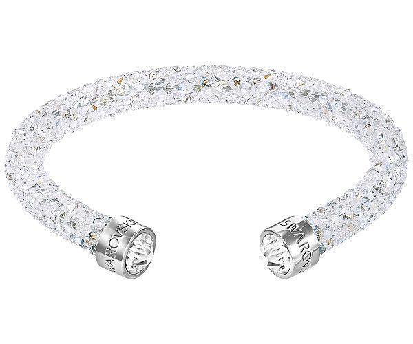 Swarovski   Crystaldust Cuff, White   Swarovski crystaldust, Open ...