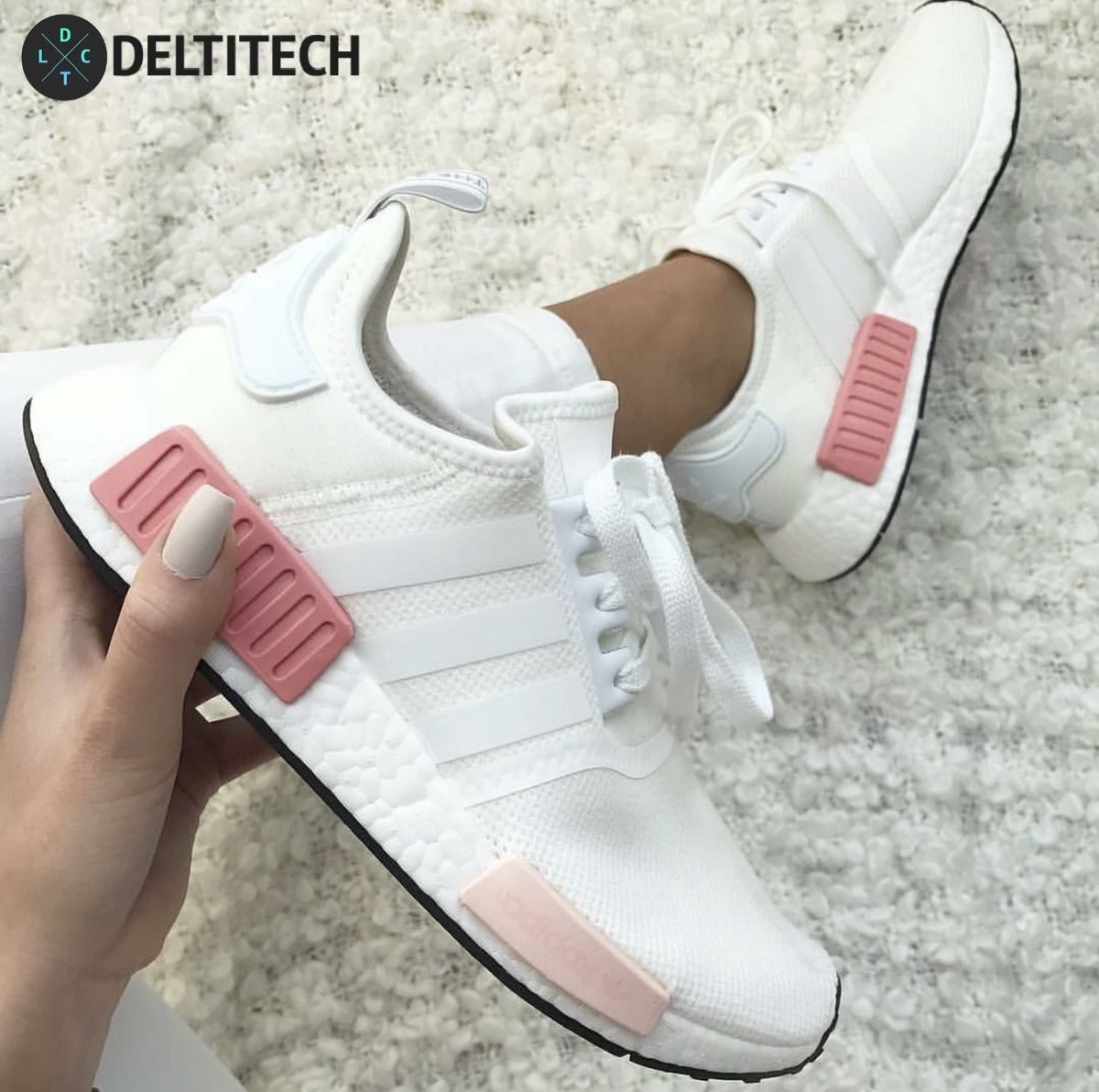 36ccaa6ecbce0 Adidas NMD R1 - Pink White Perfect For Your Girls Go See The Full  Collection On Our Site   -  DeltitechBrands.com  -  adidas  nmd  nmds  nmdr1