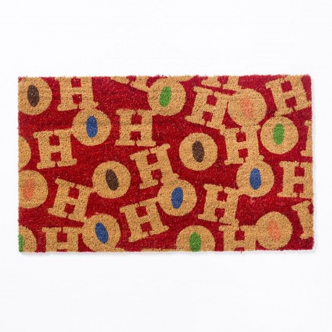 Welcome your guests with our fun, functional and festive Coir Mat. These durable doormats are great for any weather and will help keep your floors clean and tidy.
