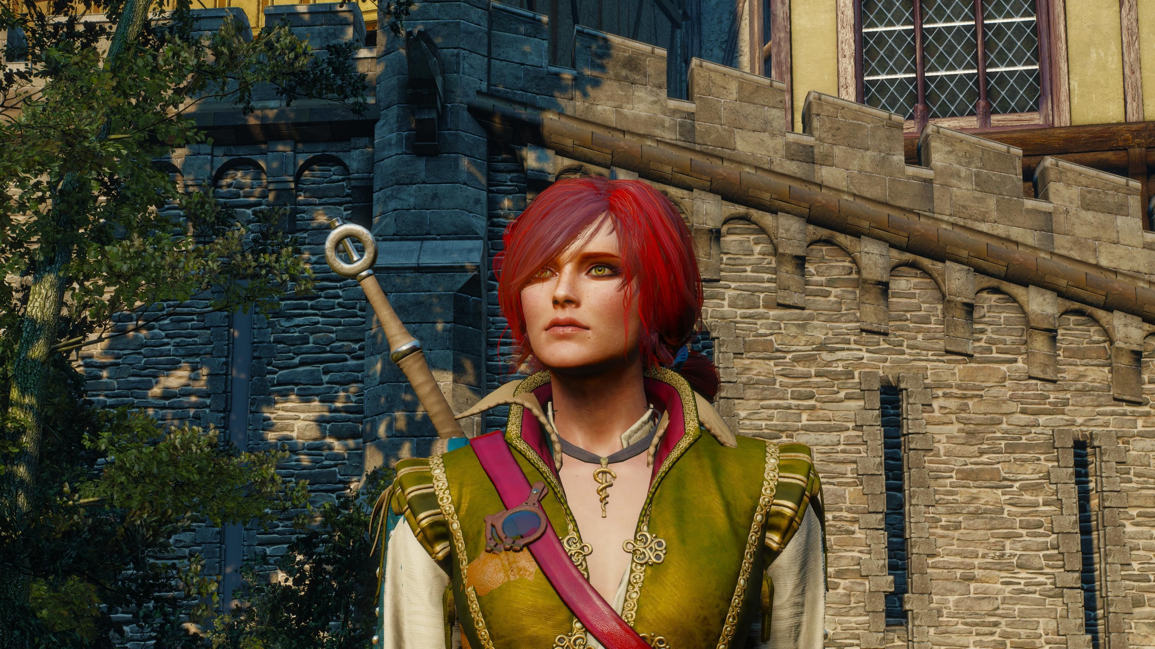 Playing around with console commands I accidentally morphed Shani