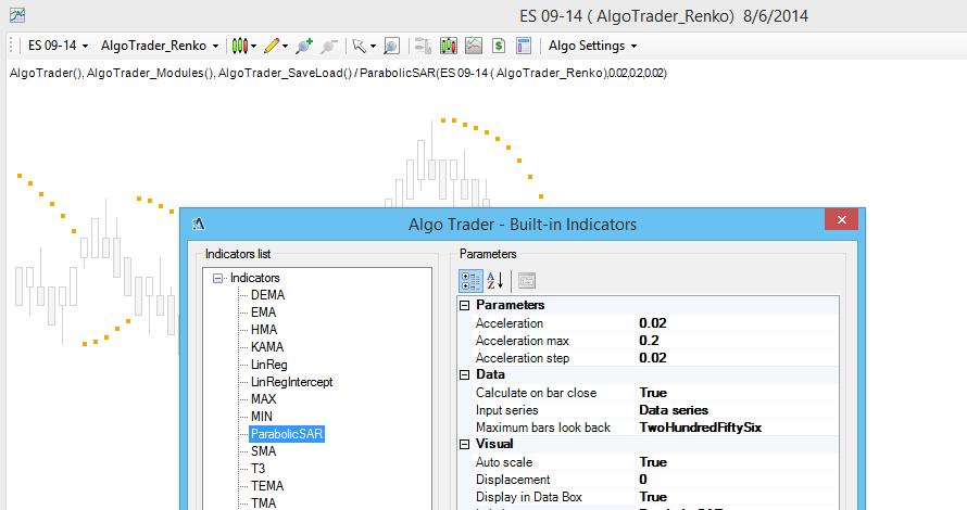 Integrated Ninja Trader System Indicators | AlgoTrader for NinjaTrader