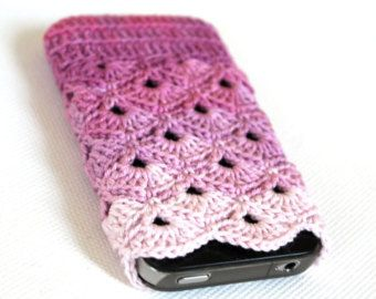 Paars roze wit met halve rondjes projects to start pinterest paars roze wit met halve rondjes double crochetcrochet accessoriescell phone dt1010fo