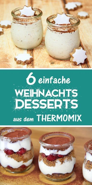 & easy Christmas desserts from the Thermomix.   - Thermomix -