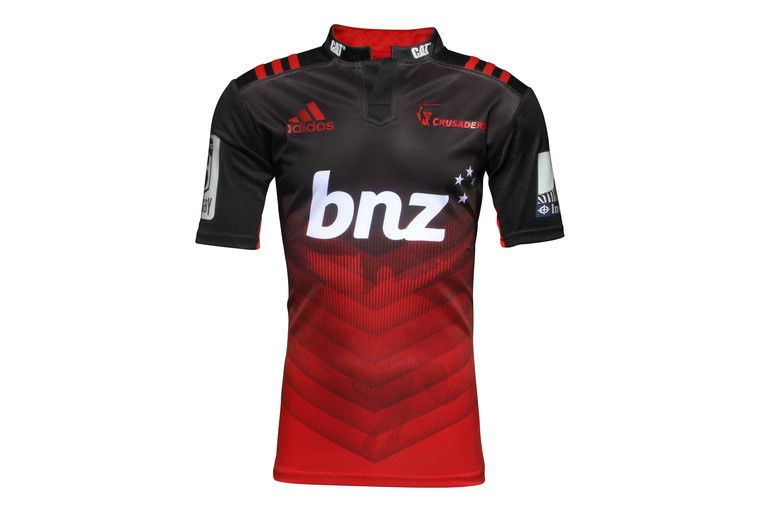 Canterbury Crusaders 2016 Home Kids Super Rugby S S Rugby Shirt ... e2a3328d47b84