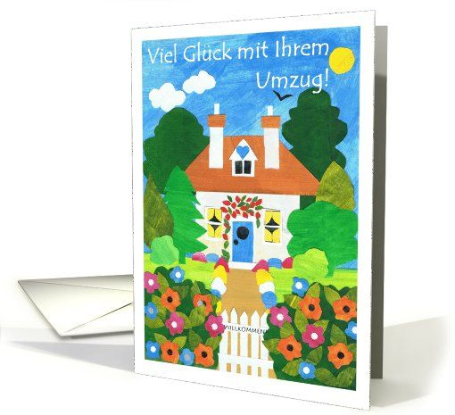 Good luck with your move german greeting card popular greeting good luck with your move german greeting card can be shipped from the uk m4hsunfo