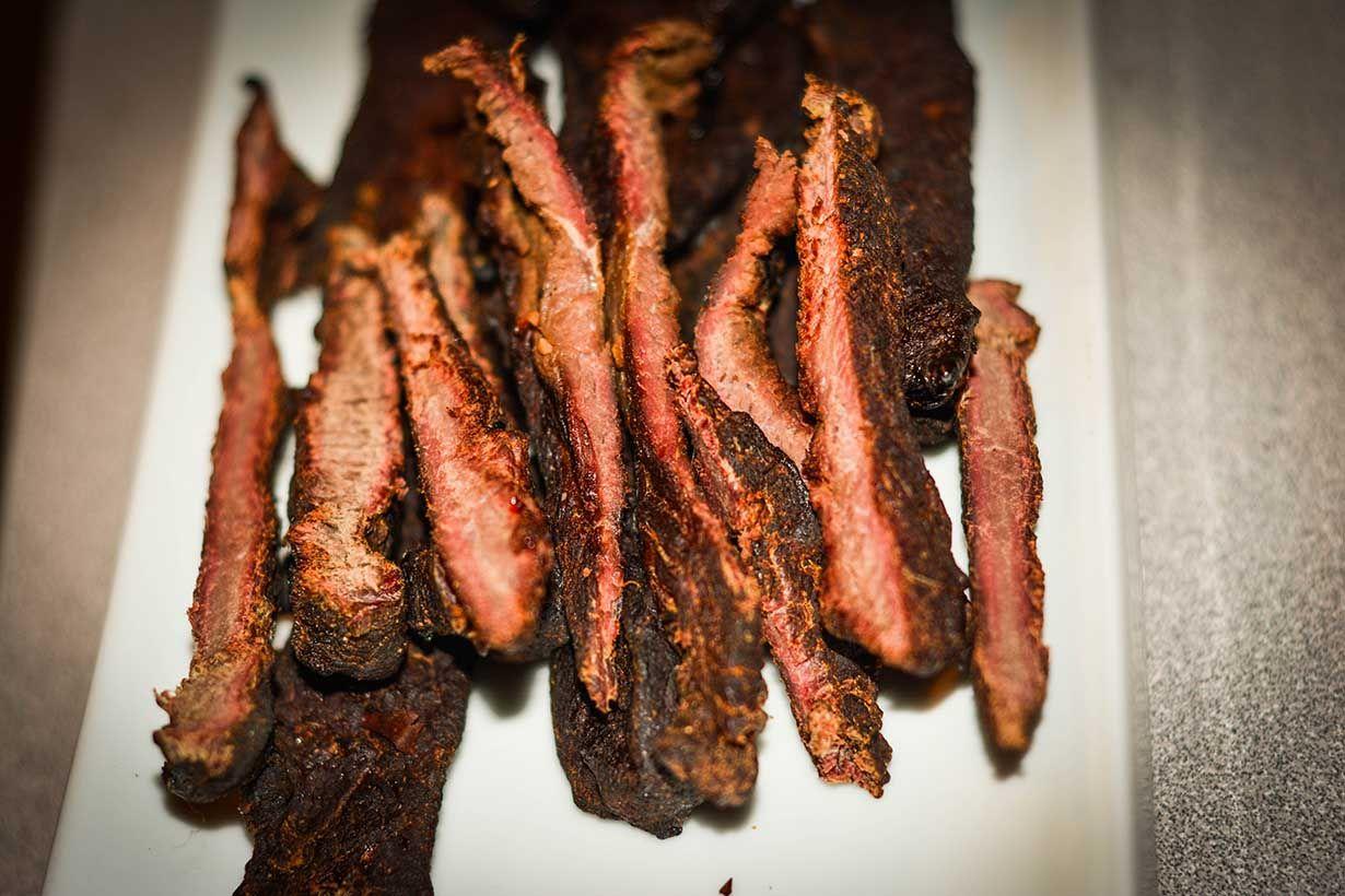 Recette de jerky viande s ch e de poitrine d 39 outarde for Fumoir a froid maison